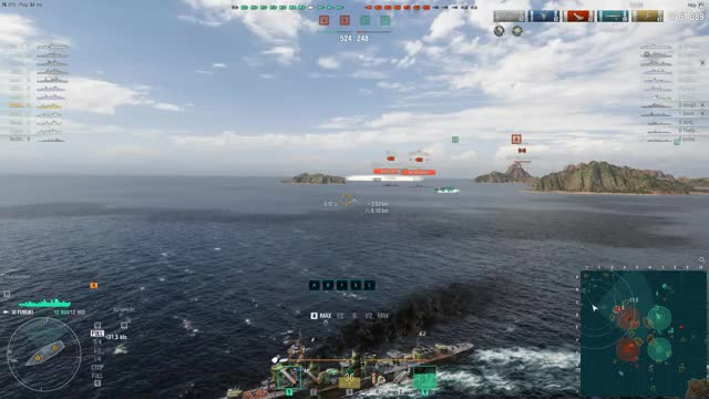 Watch and share World Of Warships GIFs and Caused Flooding GIFs by oreo7105324 on Gfycat
