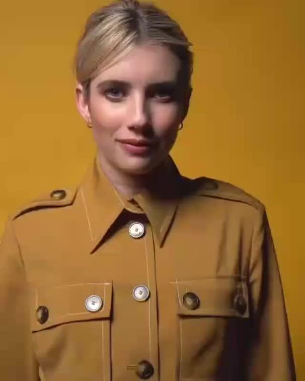celebs, emma roberts, Emma Roberts - Adorable GIFs
