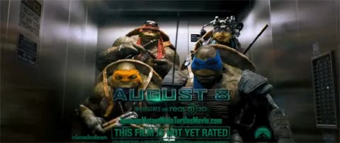 Watch and share Tmnt-2014-turtles-dancing-in-elevator GIFs on Gfycat