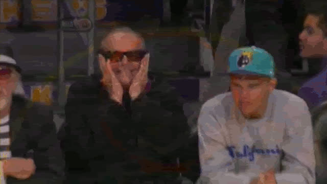 jack fingers lakers game GIFs