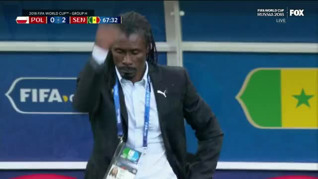 Watch and share Senegal Coach Success GIFs on Gfycat