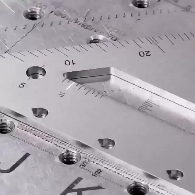 Watch and share Engraving A Ruler With A Laser GIFs on Gfycat