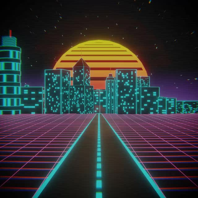Watch and share Outrun City Attempt #1 GIFs by deeerf on Gfycat