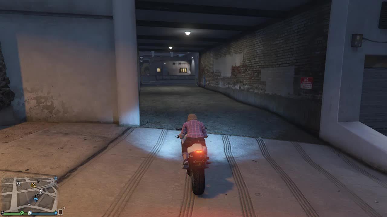 GTA Bike Glitch GIFs