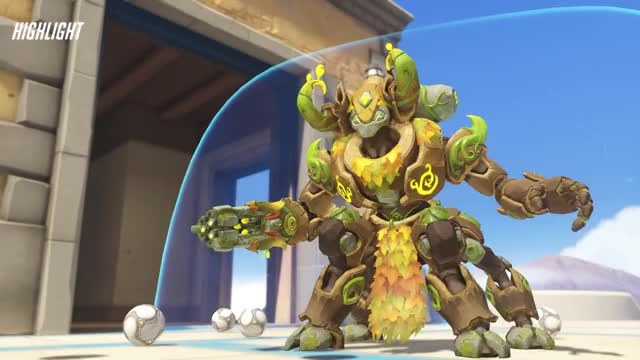 Watch and share Wrecking Ball GIFs and Overwatch GIFs by crimsonazoth on Gfycat