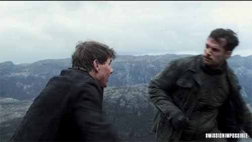 Watch this mission impossible GIF by Mission: Impossible - Fallout (@missionimpossible) on Gfycat. Discover more MissionImpossible360, action, blockbuster, epic, henry cavill, m.i., mission: impossible, missionimpossible, movies, paramount pictures, tom cruise GIFs on Gfycat