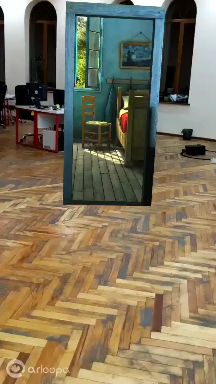 ar, art, augmented reality, Augmented reality brings van Gogh to life GIFs