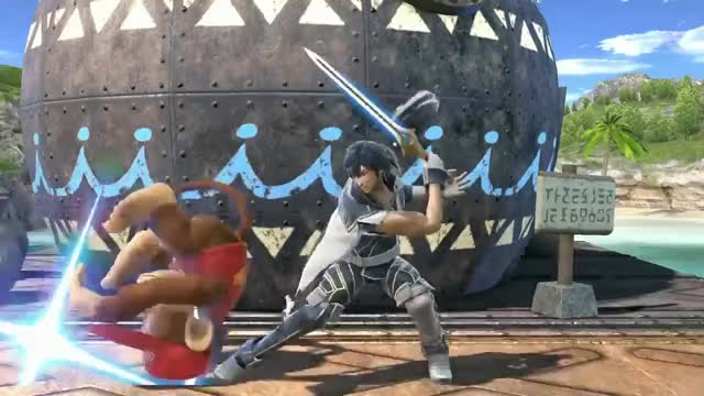Watch 25ᵋ: Chrom – Super Smash Bros. Ultimate GIF on Gfycat. Discover more bros, nintendo, smash, switch, tag_character_en GIFs on Gfycat