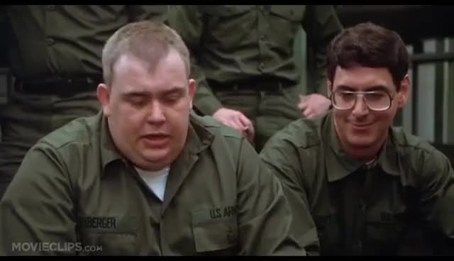 Watch and share John Candy Aggression -- Stripes GIFs on Gfycat