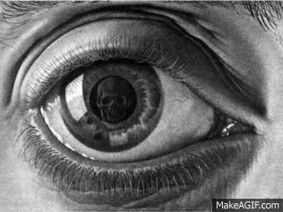 Watch and share M.C. Escher - Eye - Beat The Devils Tattoo - BRMC - Black Rebel Motorcycle Club GIFs on Gfycat
