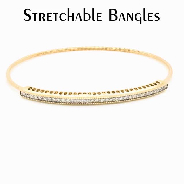 Watch and share VG - Stretchable Bangle Simple Ad GIFs by Variety Gem on Gfycat