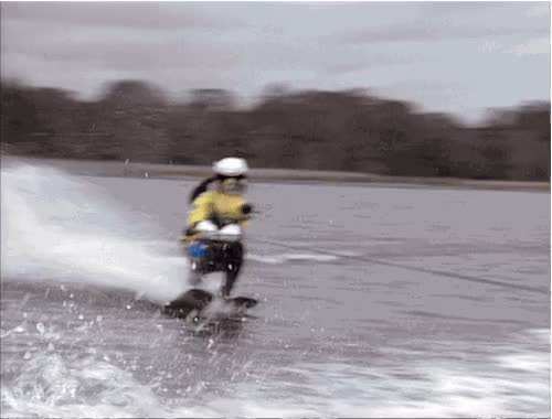 Watch and share Water Skiing GIFs on Gfycat