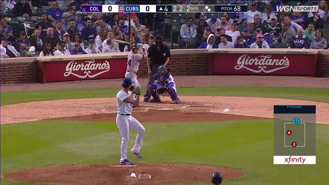 Watch and share Colorado Rockies GIFs and Chicago Cubs GIFs on Gfycat