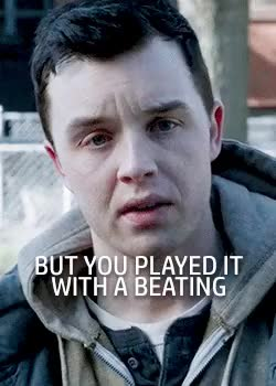 Watch and share Clearing My Drafts GIFs and Mickey Milkovich GIFs on Gfycat