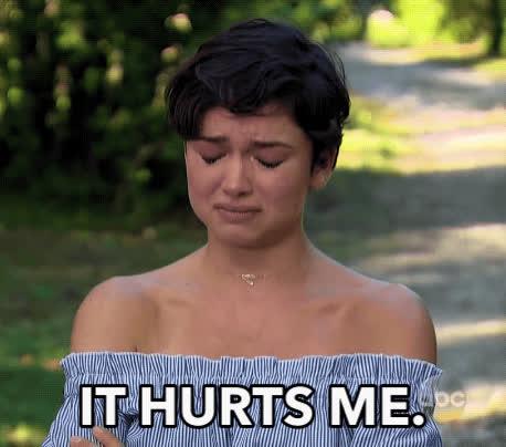 bekah m, crying, emotional, feels, sad, the bachelor, Bekah M. - The Bachelor GIFs