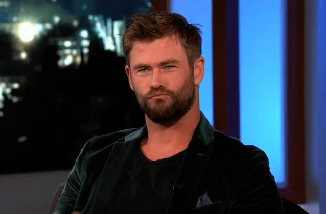 Watch and share Jimmy Kimmel Live GIFs and Chris Hemsworth GIFs by Reactions on Gfycat