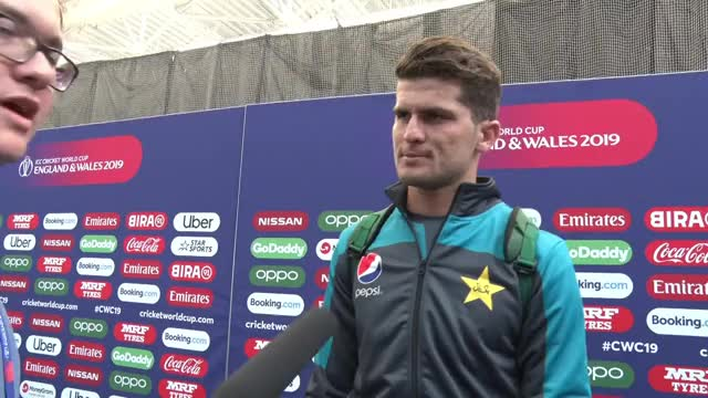 Watch and share Shaheen Afridi On Pakistan Preparations ICC Cricket World Cup 2019 GIFs on Gfycat
