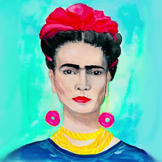 Watch and share Frida Kahlo GIFs and Sprinkles GIFs by Color Snack on Gfycat