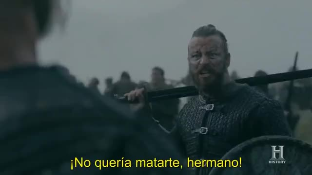 Watch Muerte de Halfdan, Vikings 5x10 GIF on Gfycat. Discover more Harald, Vikings, halfdan, historyvikings, vikingos GIFs on Gfycat