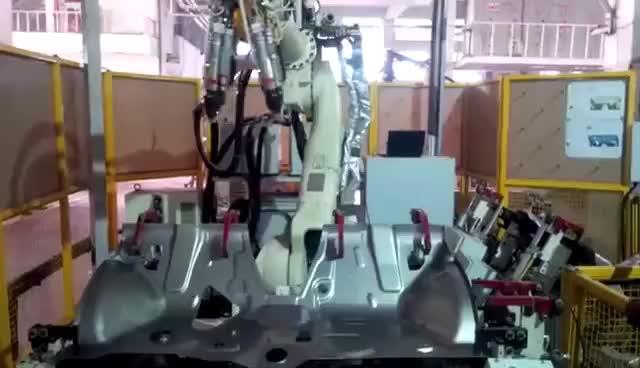 Watch and share ROBOT Welding GIFs on Gfycat