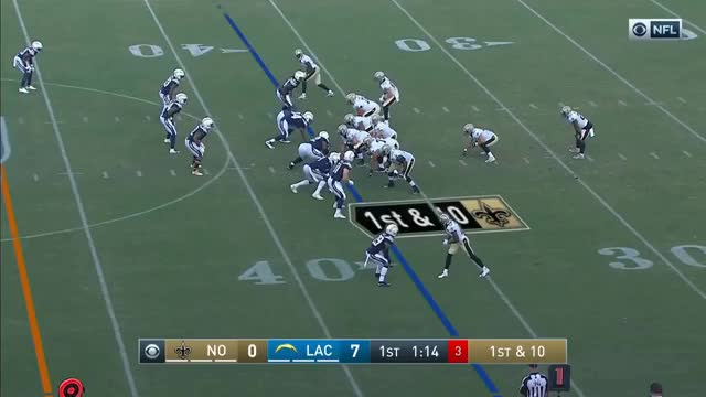 Watch Saints vs. Chargers Highlights | NFL 2018 Preseason Week 3 GIF on Gfycat. Discover more Action, Chargers, Football, NFC, Sports, afc, brees, games, lose, nfl, offense, plays, preseason, rivers, rookie, rookies, saints, sport, td, win GIFs on Gfycat