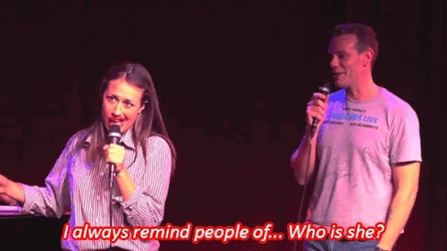 Adam Pascal, Broadway, Colleen Ballinger, Miranda Sings, RENT, Seth Rudetsky, Wizard French Fries GIFs