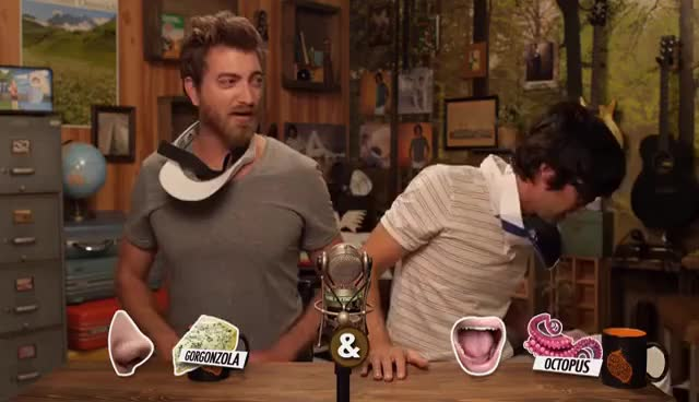 Watch and share Rhett And Link GIFs and Octopus GIFs on Gfycat
