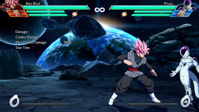 Watch Goku Black - Corner - 2M into HKD - 5028 damage GIF by @robro on Gfycat. Discover more related GIFs on Gfycat