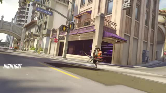 Watch highlight GIF on Gfycat. Discover more hanzo, overwatch GIFs on Gfycat