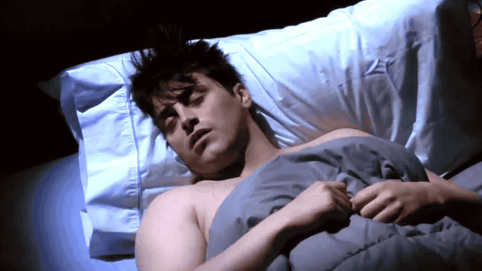 bed, blanc, down, dream, friends, joey, la, lay, matt, mouth, nightmare, open, problem, rest, sleep, sleepy, snor, snoring, tired, tribianni, Joey and his snoring problems GIFs