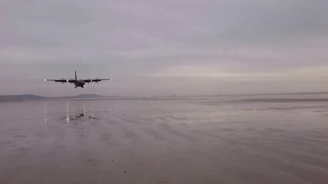 Watch and share C130 Beach Landing (reddit) GIFs on Gfycat