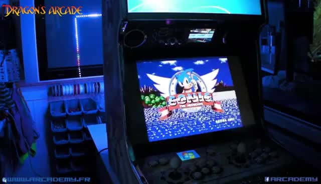 Watch and share Ambilight Arcade Cabinet GIFs on Gfycat