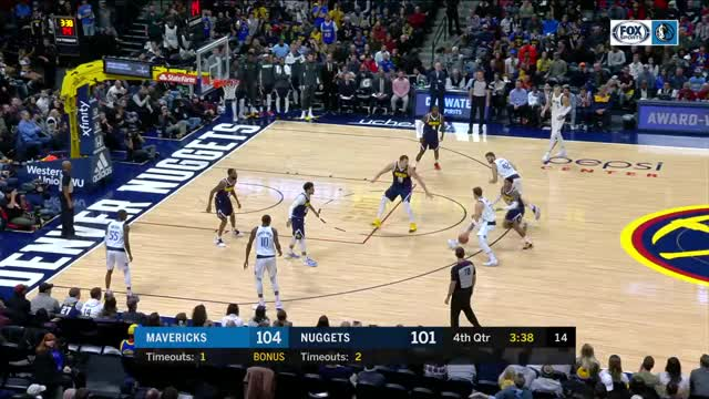 Watch and share Dallas Mavericks GIFs and Denver Nuggets GIFs by dirk41 on Gfycat