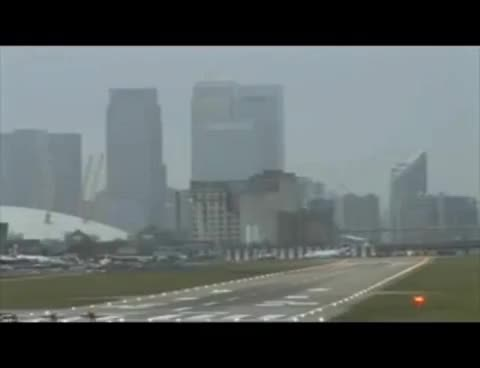 Watch and share NEAR CRASH AVRO 146 @ LONDON CITY (VERY HARD LANDING) GIFs on Gfycat