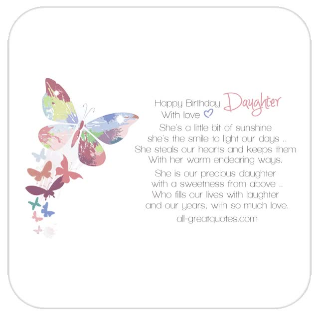Watch and share Happy-birthday-daughter-with-love-animated-butterfly.gif GIFs on Gfycat