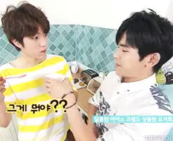 Watch ce GIF on Gfycat. Discover more 150809, gif:infinite, hoya, infinite, kmilk song, mine, sungyeol GIFs on Gfycat