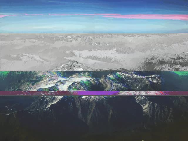 Watch Glitchy Mountain GIF on Gfycat. Discover more glitch, glitch_art GIFs on Gfycat