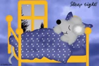Watch Sleep tight! mouse, sleeping in bed good night e-cards GIF on Gfycat. Discover more related GIFs on Gfycat