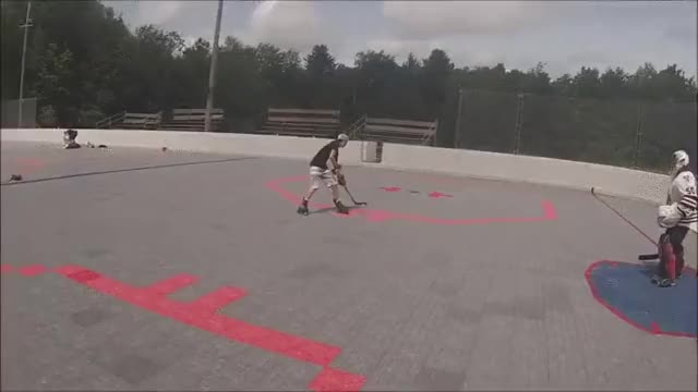 """Watch """"Fluid"""" Backhand Toe Drag? (reddit) GIF by @chenac on Gfycat. Discover more hockeyplayers GIFs on Gfycat"""