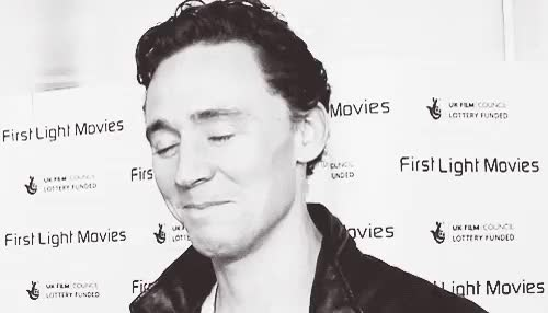 Watch this GIF on Gfycat. Discover more UGH JUST, WHAT EVEN WITH THAT SMILE, random edit, tom hiddleston GIFs on Gfycat