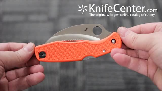 Watch and share Spyderco SP77SOR GIFs by knifecenter on Gfycat