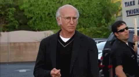 Larry David, highqualitygifs, Meh GIFs