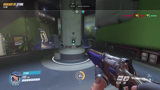 Watch ADS GIF on Gfycat. Discover more highlight, overwatch GIFs on Gfycat