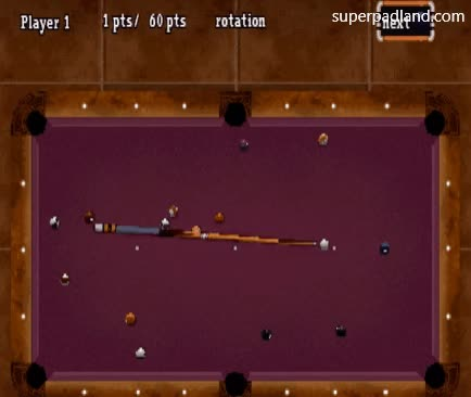 Watch and share Retro Games GIFs and Pool Games GIFs by Super Pad Land on Gfycat