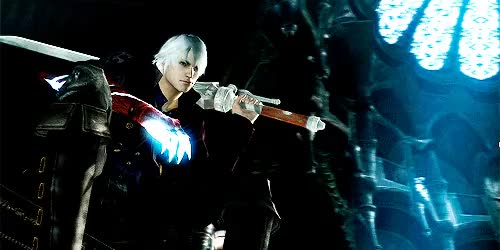 Watch and share Devil May Cry 4 GIFs and Sons Of Sparda GIFs on Gfycat