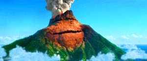 Watch and share Volcano GIFs and Disney GIFs on Gfycat