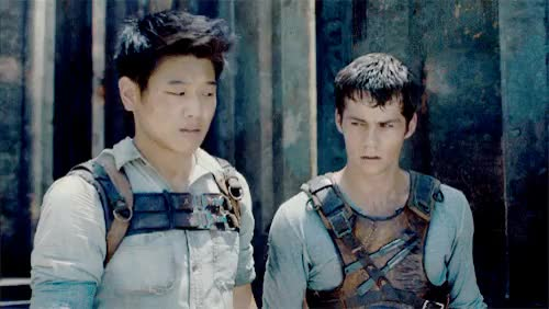 Watch and share Thominho Edit Yaas GIFs and The Maze Runner GIFs on Gfycat