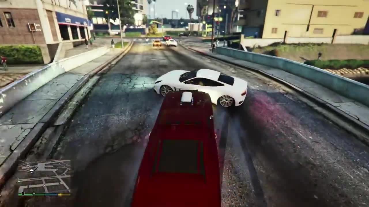 GrandTheftAutoV, duke o'death, gtaa, Why Duke O'Death is the best vehicle in GTAV GIFs