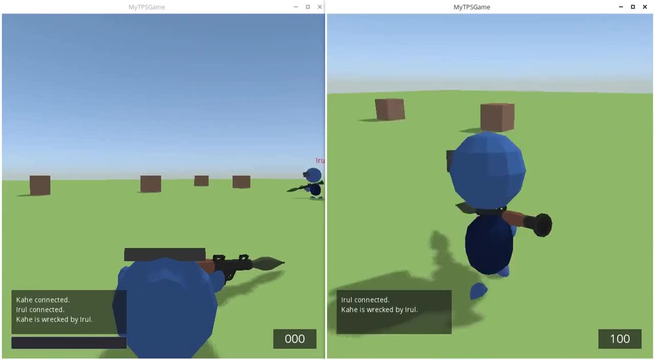 Godot Engine Multiplayer Thirdperson Shooter v1.1 GIFs