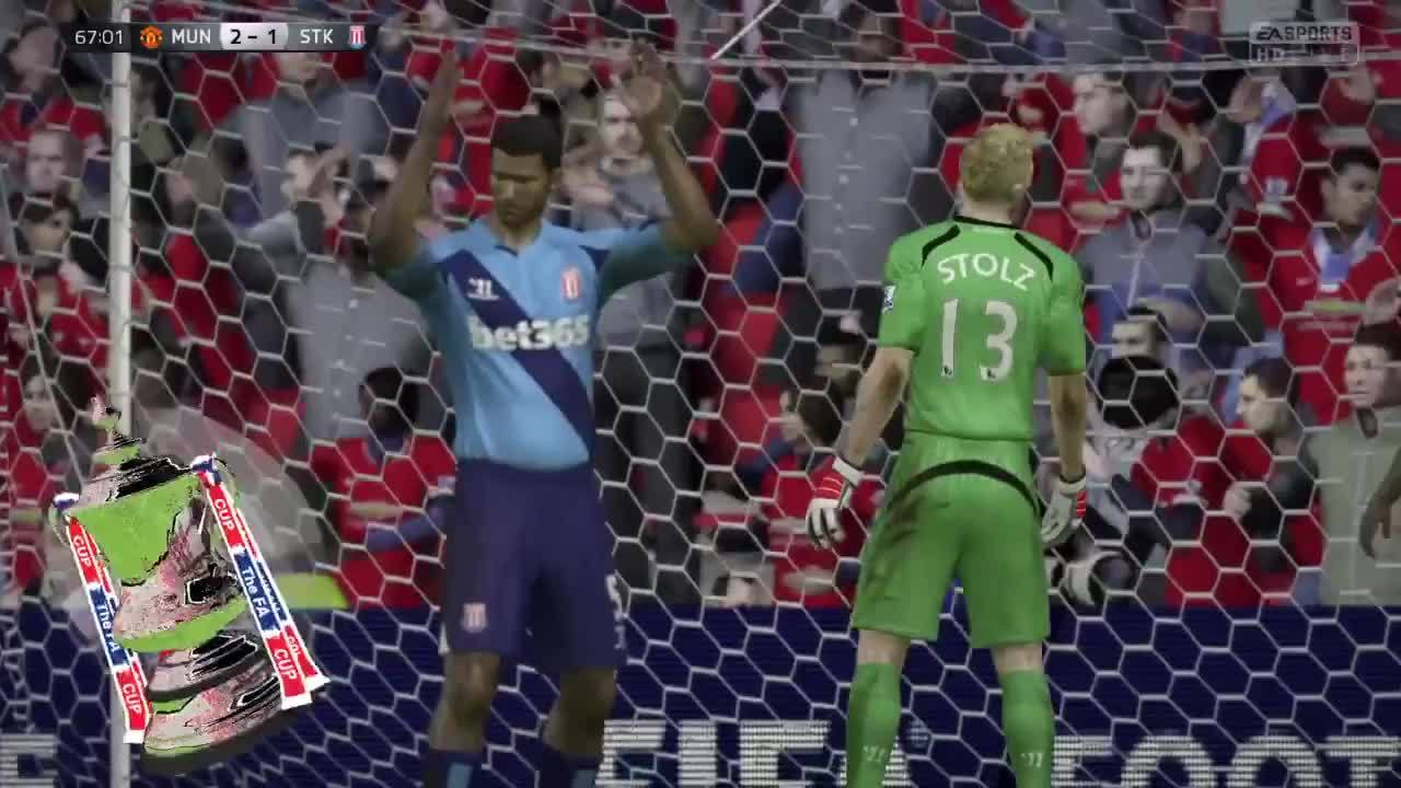 fifacareers, Two of my YA players in 2026 (91 rated CDM Garrido and 72 rated LW Grill) combine for a beautiful goal. (reddit) GIFs